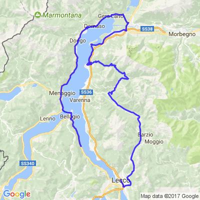 les 4 lacs italie