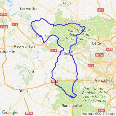 De la forêt de Rambouillet au Parc naturel régional du Vexin français