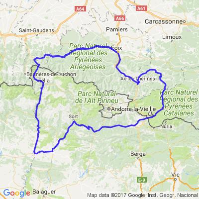 Balade Pyrénées ariegoise et espagnole