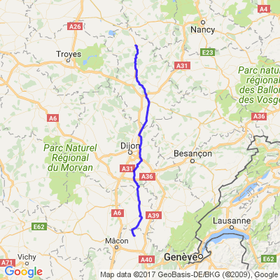 VRAC 2017 etape 2 vecqueville-52300/mantenay montlin 01560