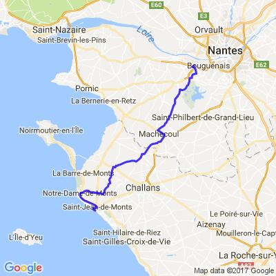 Nantes - saint jean de mont