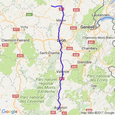 Weekend BOURGOGNE - Aller Rochefort du Gard (30) à TORCY (71)