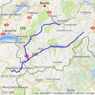Petit tour en Suisse pour gros rouleur
