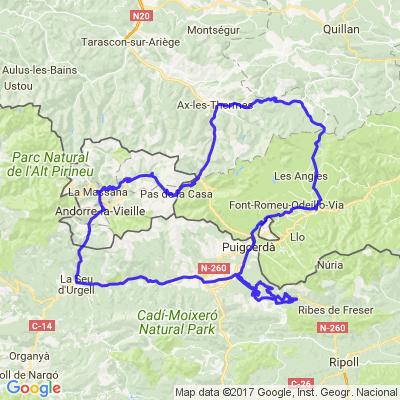 Roadtrip Andorre - Jour 2/3 - Ax-les-thermes / Pas de la Casa / Alp / Catalunya