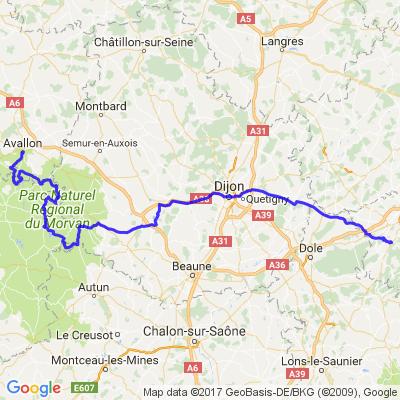 Besançon - Avallon