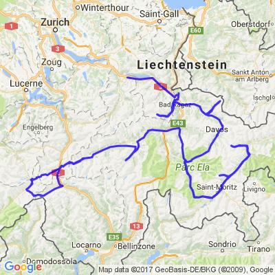 Grands cols et vallée suisses