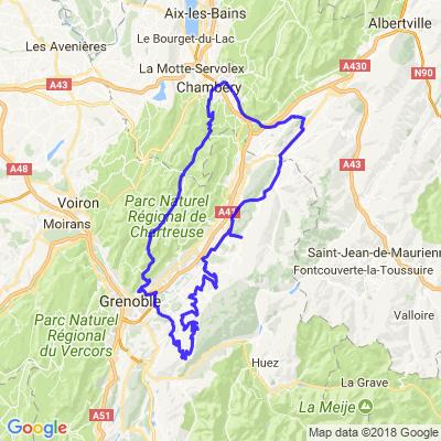 Balade au lac de Luitel depuis Chambéry