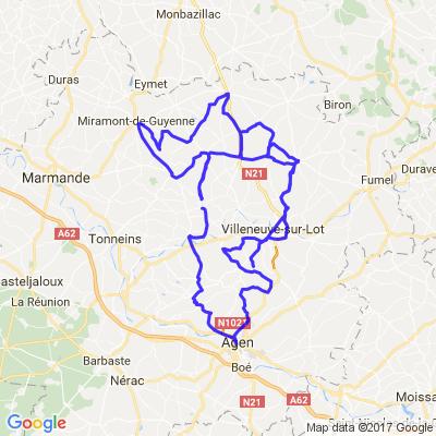 Nord du Lot et Garonne