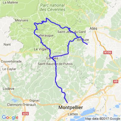 Mont Aigoual par les petites routes