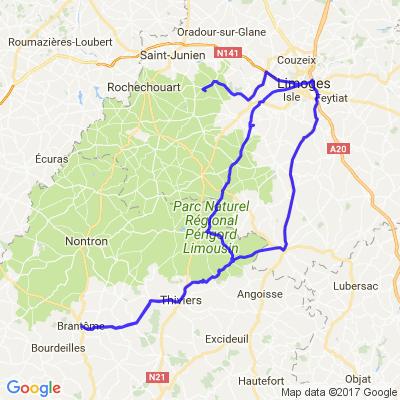 Limoges,Brantome