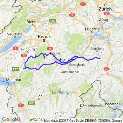 partie 1 ballade panoramique du canton de Bern