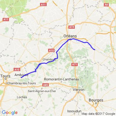 La remonté de la Loire Partie 2