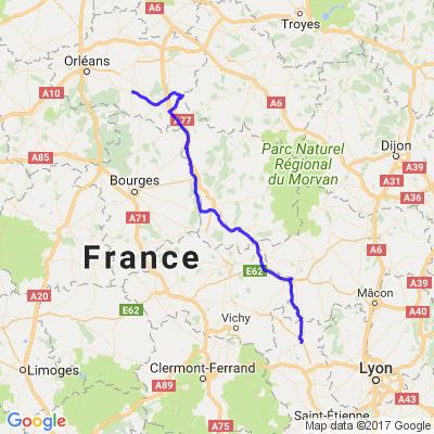 La remonté de la Loire Partie 3