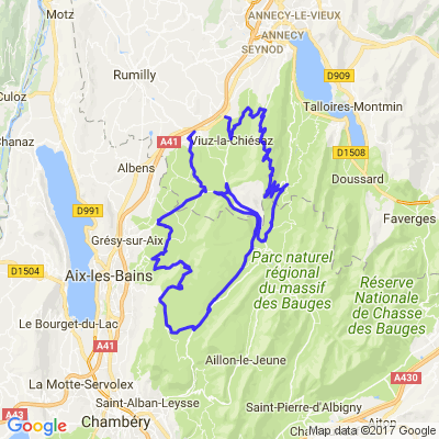 Mont Revard / Massif des Bauges
