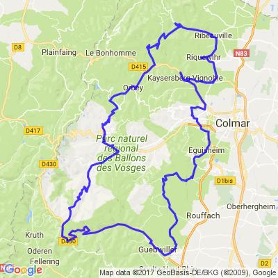Alsace - Route des vins version mi-longue