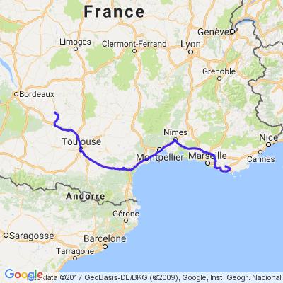 Une escapade de 8 jours de Casseneuil sur la Corse et retour.