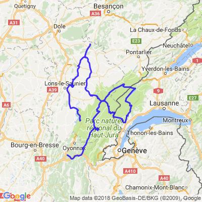Balade à quatre roues dans le haut Jura...