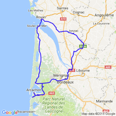 Road trip entre Aquitaine et Charente Maritime