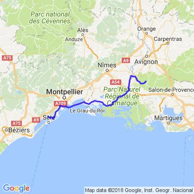Balade Les Baux de Provence RCD34