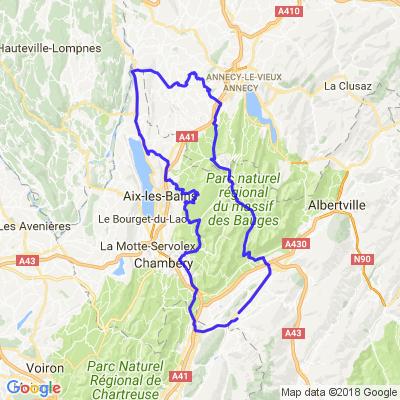 Belvédères, Val de Fier, Gorges et Jardins secrets