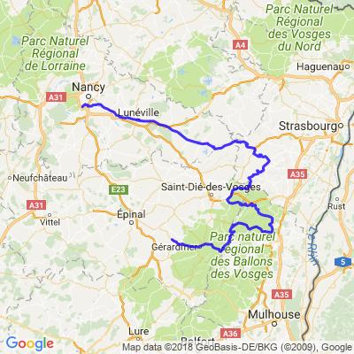 Road trip Vosges (Etape 2)