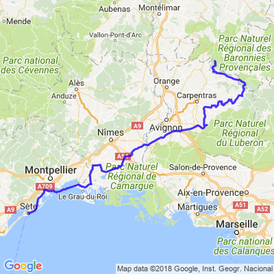 Retour du Ventoux (272km).