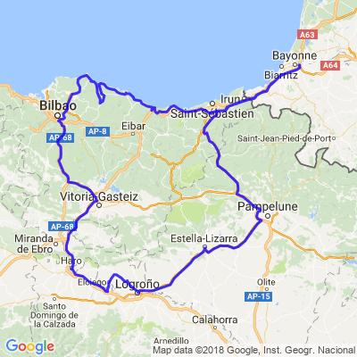 Gaztelugatxe y Rioja