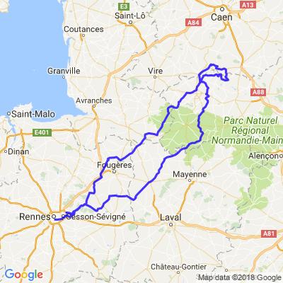 Rennes -Condé