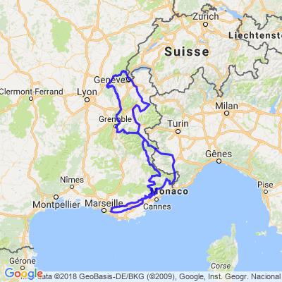 les Grands cols Alpes Jura