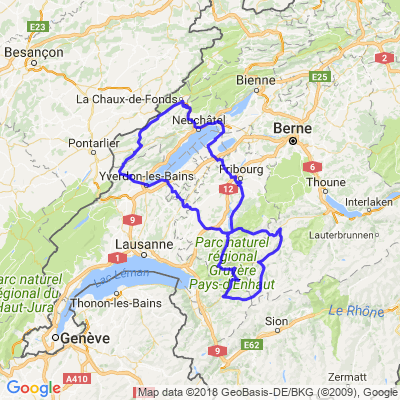 Cols des Mosses, Pillon, Jaun, Sainte-croix