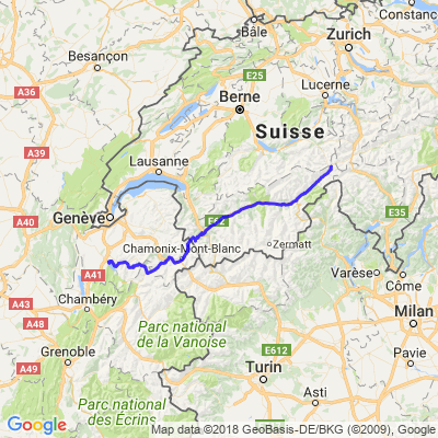 Annecy-Furkapass