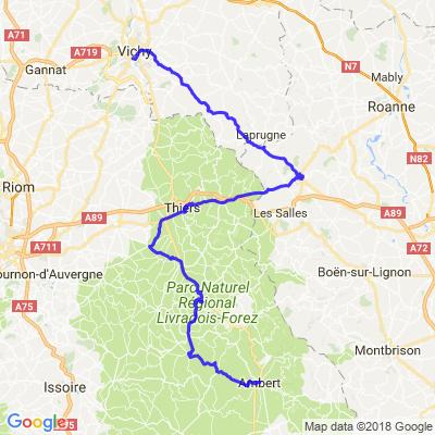 Auvergne-Grande boucle 7/7
