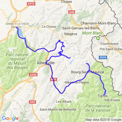 5/5 route napoleon + grandes alpes 5/5
