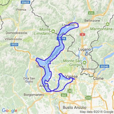 Séjour Italie du Nord - Jour3 - Lac Majeur et lac de Varèse
