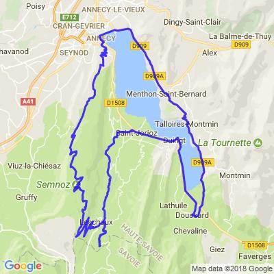 Lac d'Annecy - Semnoz au départ de Doussard