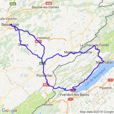 Besançon-Neuchâtel