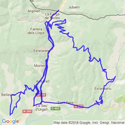 Balade rando Andorre - Enduro/Trail