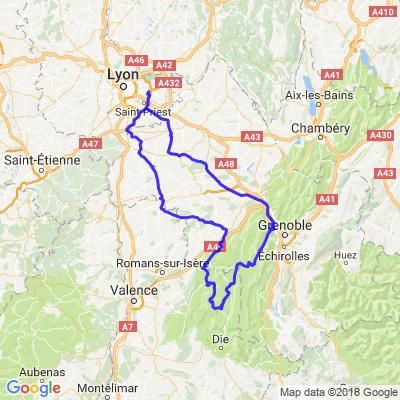 Petite balade en Vercors depuis l'Est Lyonnais
