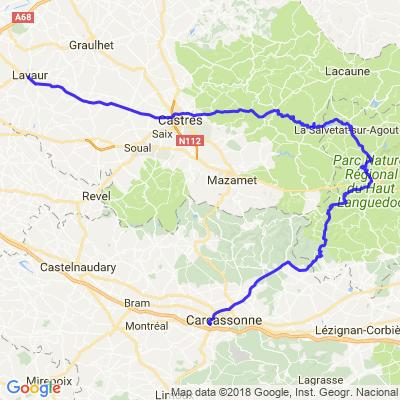 201804 - Etape 6 - Carcassonne-Lavaur