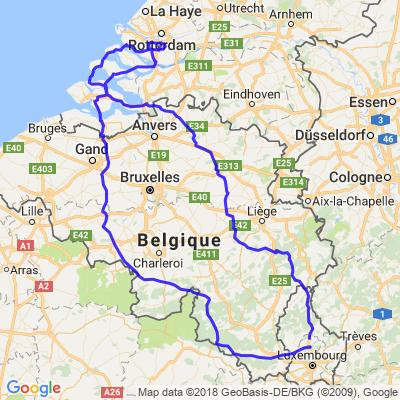 Luxembourg - Belgique TeambikeRS