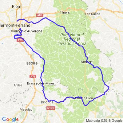 L'Auvergne et le Livradois