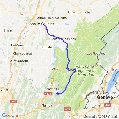 Découverte Jura, Ain (3/3 Lac Genin/Retour)