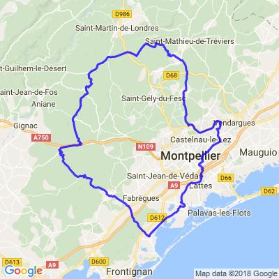 Les 100 km de Montpellier
