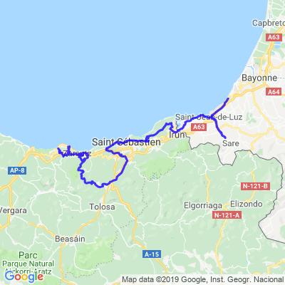 Pays Basque ( a faire)