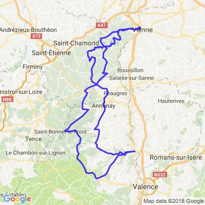 Ardèche par burdignes