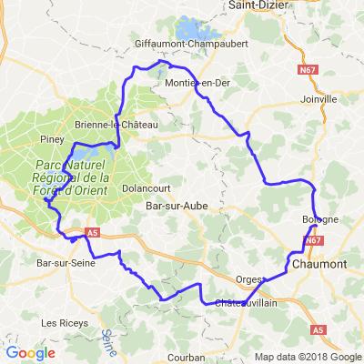 lamancine/montier/dienville/chateauvillain