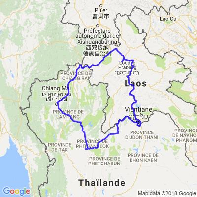 road trip thailande au laos
