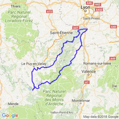 Auvergne/Cevennes/Ardèche