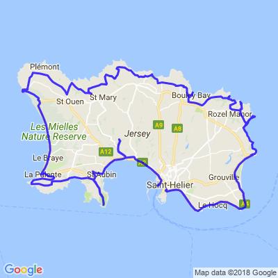 Run de Jersey - Jour 2 (Ile de Jersey)