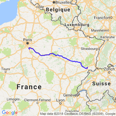 Run du Ballon des Vosges - Jour 1